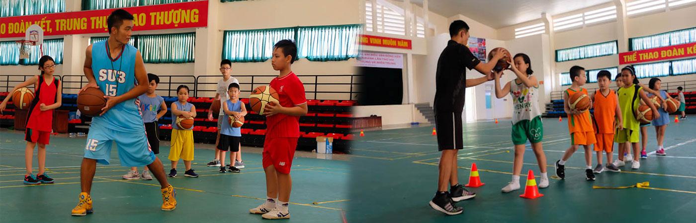Tập luyện bóng rổ Đà Nẵng