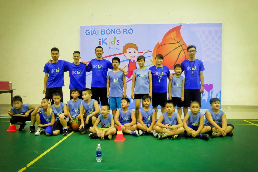 Khai giảng lớp bóng rổ chất lượng cao tại Đà Nẵng