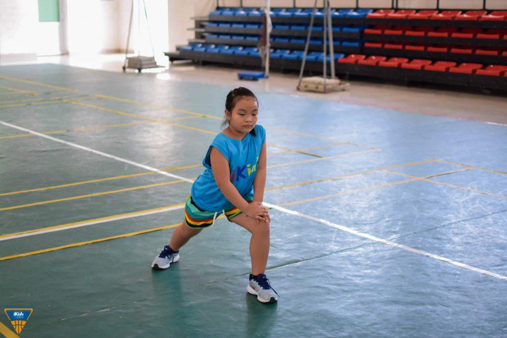 Tập bóng rổ rèn luyện thể lực