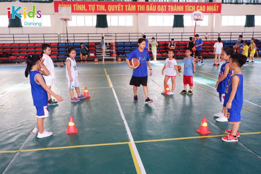 khóa tập bóng rổ cho trẻ em tại Đà Nẵng